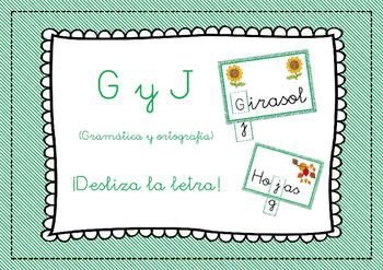 Spanish // Español: Ortografía y Gramática - G y J