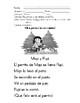 Español Primer Grado - Tareas del proceso de enseñanza aprendizaje del fonema Pp