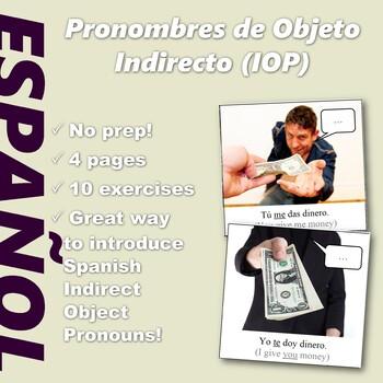 Español: Pronombres de Objeto Indirecto (Spanish: Indirect Object Pronouns)