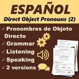 Español: Pronombres de Objeto Directo 2 (Spanish: Direct O