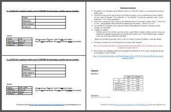 Español: SER vs ESTAR. Usos y ejercicios. (Uses and exercises)