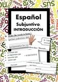 Español: Subjuntivo Presente: Introducción (Spanish: subju
