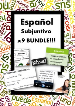 Español: Subjuntivo Presente (Spanish: Present Subjunctive BUNDLE)