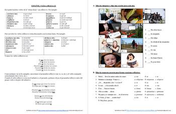 Español: Verbos reflexivos 2 (SPANISH: Reflexive verbs 2)