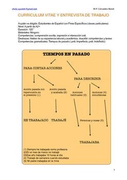 Español de los negocios - El trabajo