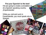 Españolandia Foreign Language Simulation
