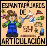 Espantapájaros De Articulación: A Speech Craft Activity (Español)