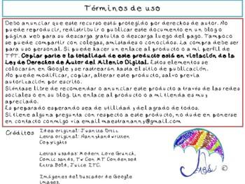 Español formar palabras, lecto-escritura conciencia fonológica (spanish)