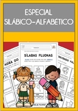 Especial SILÁBICO-ALFABÉTICO