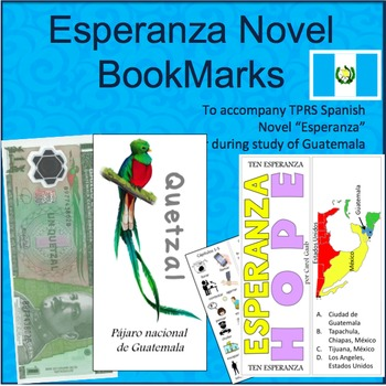 Esperanza Novel Bookmarks