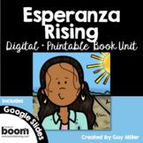 Esperanza Rising Novel Study: Digital + Print