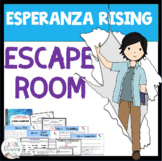 Esperanza Rising Activity ESCAPE ROOM