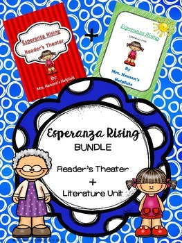 Esperanza Rising BUNDLE with Reader's Theater and Lit Unit