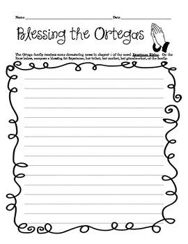 Esperanza Rising: Blessing the Ortegas