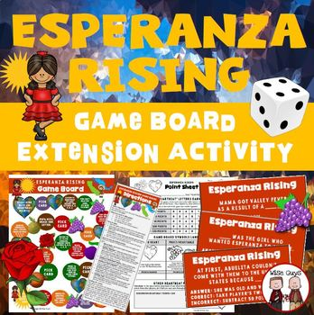 Esperanza Rising Board Game Activity