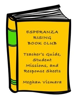 Esperanza Rising Book Club (Teacher Guide, Discussion, Int