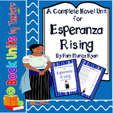 Esperanza Rising by Pam Munoz Ryan Book Unit