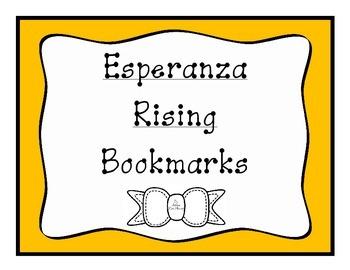 Esperanza Rising Bookmarks