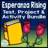 Esperanza Rising Bundle: Final Book Test and Book Report Project {25% Off}