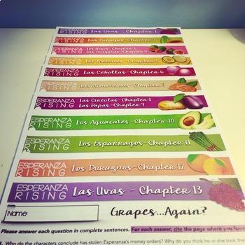 Esperanza Rising: Bundled Study Guides