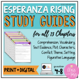 Esperanza Rising | Chapter Study Guides