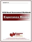 NEW!! Esperanza Rising -CCQ Novel Study Assessment Workboo