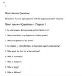 Esperanza Rising Chapter 1 quiz