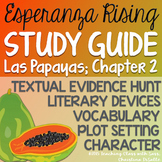 Esperanza Rising: Study Guide -  Chapter 2 {Las Papayas}