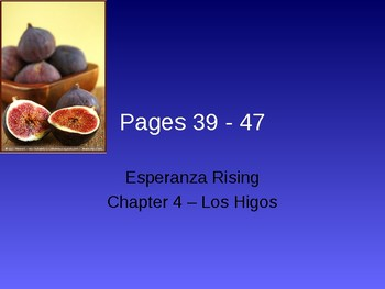 Esperanza Rising - Chapter 4
