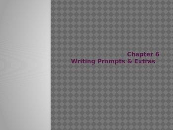 Esperanza Rising Chapter 6 Writing Prompts