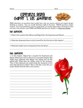 Esperanza Rising -- Chapter 7 Notes