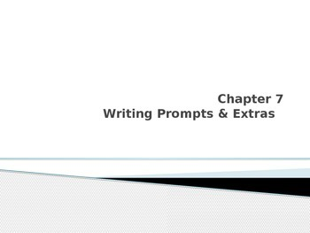 Esperanza Rising Chapter 7 Writing Prompts