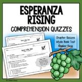 Esperanza Rising Chapter Questions (Esperanza Rising Dista