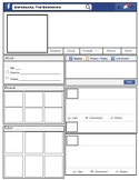 Esperanza Rising Character Analysis with Facebook Template