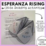 Esperanza Rising - Close Reading Activity (Paper Fortune Teller)