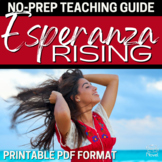 Esperanza Rising Literature Guide, Complete Novel Study Unit Plans