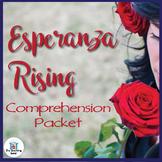 Esperanza Rising Comprehension Packet