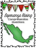 Esperanza Rising Comprehension Questions and Theme Connections