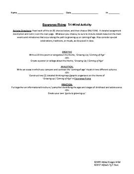 Esperanza Rising Differentiated Activity Bundle