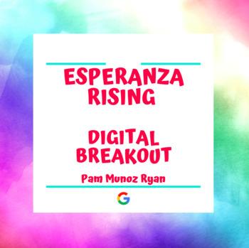 Esperanza Rising Digital Breakout Escape Room