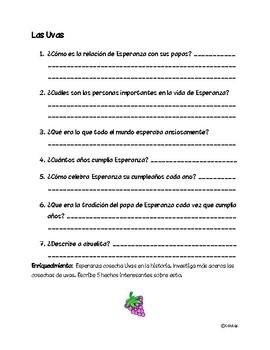 Esperanza Rising (Esperanza Renace) Spanish Novel Study