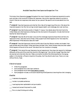 Proposal Argument Essay Examples Esperanza Rising Essay Thesis Statement Example For Essays also English Language Essays Esperanza Rising Essay By Having A Ball In Th Grade  Tpt Proposal Essay Topics List