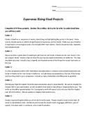 Esperanza Rising Free Choice Projects