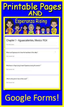 Esperanza Rising Free Quiz