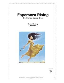 Esperanza Rising Guided Reading