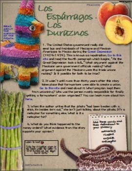 Esperanza Rising Interactive Book Project