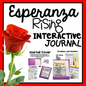 Esperanza rising interactive journal by teaching and so fourth tpt esperanza rising interactive journal ccuart Choice Image