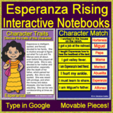 Esperanza Rising -  Interactive Notebooks for Google Drive and Google Classroom