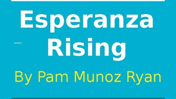 Esperanza Rising Introductory Powerpoint