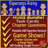 Esperanza Rising Distance Learning Novel Study - Printable & SELF-GRADING GOOGLE